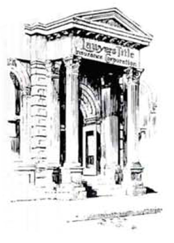 Drawing of Old Lawyers Title Building
